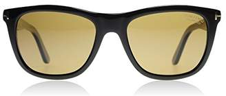 Tom Ford Andrew FT 500 01H Shiny Black / Polarized Sunglasses
