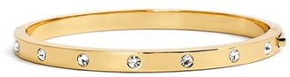 Women's Kate Spade New York Crystal Hinge Bangle $48 thestylecure.com