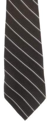 Prada Striped Patterned Tie