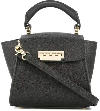 Zac Posen Eartha Iconic mini glitter top handle bag