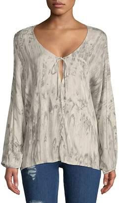 Young Fabulous & Broke Women's Ayla Long-Sleeve Blouse