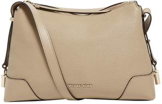 MICHAEL Michael Kors Grained Leather Crosby Messenger Bag