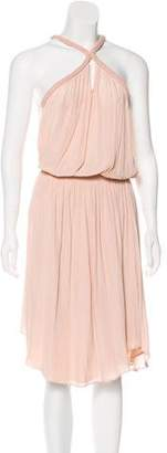 Ramy Brook Pleated Midi Dress w/ Tags