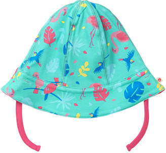 5918d74039b Piccalilly Baby Girls Tropical Stripe Reversible Summer Sun Hat