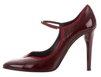 L'Wren Scott Patent Leather Pointed-Toe Pumps