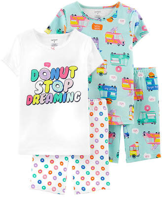 Carter's 4-pc. Pajama Set Preschool / Big Kid Girls