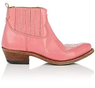 Golden Goose Women's Crosby Leather Ankle Boots - Pink