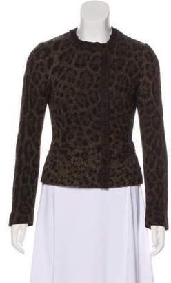 Dolce & Gabbana Wool-Blend Woven Jacket