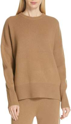 Theory Relaxed Drop Shoulder Wool & Cashmere Sweater