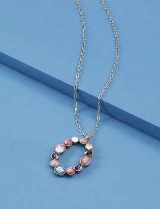 Lane Bryant Multi-Stone Pendant Necklace