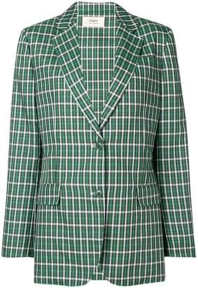 Ports 1961 checked classic blazer