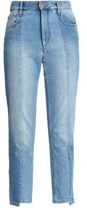 Etoile Isabel Marant Faded High-rise Slim-leg Jeans