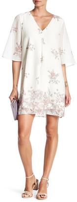 DR2 by Daniel Rainn Swiss Dot Floral Dress $78 thestylecure.com