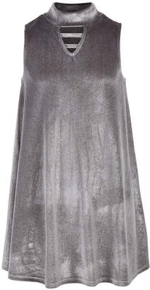 Epic Threads Big Girls Mock-Neck Velvet Swing Dress
