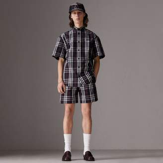 Burberry Gosha x Tailored Shorts, Blue