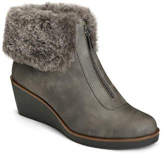 Aerosoles A2 BY A2 by Womens Bintegrity Winter Zip Wedge Heel Boots