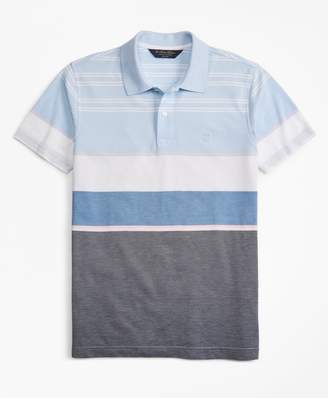Brooks Brothers Slim Fit Bold Stripe Polo Shirt