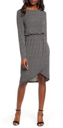 Leota Angelina Long Sleeve Jersey Dress