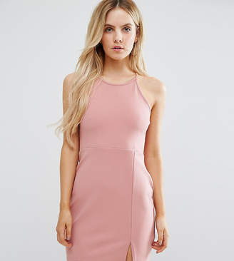 Missguided Petite Side Split Mini Dress