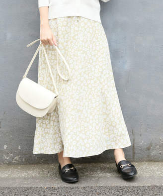 LOWRYS FARM (ローリーズ ファーム) - 【カラー予約受付中】ハナクルミボタンAラインスカート