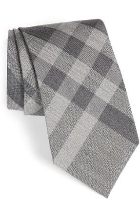 Men's Burberry Clinton Woven Silk & Wool Tie $190 thestylecure.com