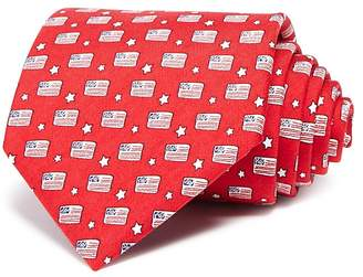 Vineyard Vines Flags and Stars Wide Tie $85 thestylecure.com
