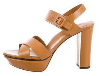 Marion Parke Alanis Leather Sandals w/ Tags