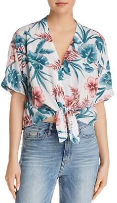 Rails Thea Floral Print Tie-Front Shirt - 100% Exclusive