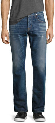 Hudson Men's Byron Classic Straight-Leg Jeans, Blue