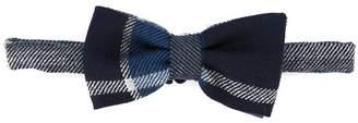 Dolce & Gabbana tartan bow tie