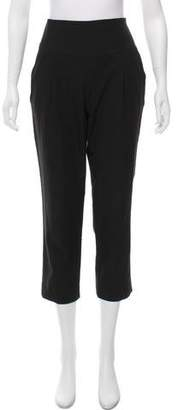 MICHAEL Michael Kors High-Rise Cropped Pants