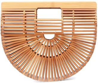 Cult Gaia Ark Bamboo Small clutch