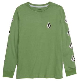Volcom Deadlystones Graphic Long Sleeve T-Shirt