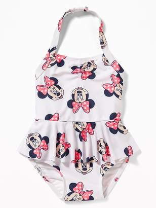 Old Navy Disney© Minnie Mouse Halter Swimsuit for Toddler Girls