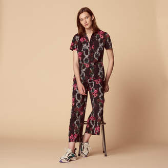 Sandro All-over print jumpsuit