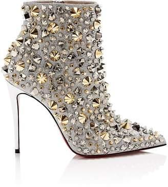 Christian Louboutin Women's So Full Kate Glitter Ankle Boots