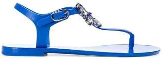 Dolce & Gabbana embellished thong strap sandals