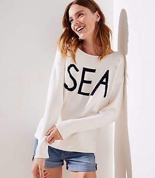 LOFT Sea Sweater