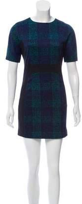 Michael Kors Patterned Short Sleeve Dress w/ Tags