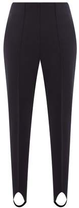 Bogner Elaine Stirrup Ankle Technical Twill Ski Leggings - Womens - Navy