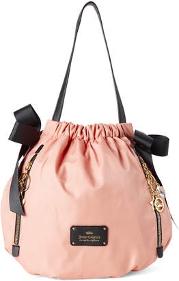 Juicy Couture Blush Charmed Life Drawstring Shoulder Bag