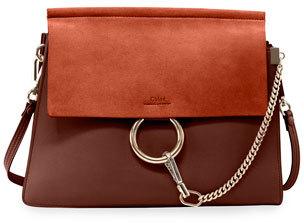 Chloe Faye Medium Flap Shoulder Bag $1,950 thestylecure.com