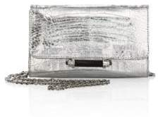 Judith Leiber Couture Mini Sloane Metallic Clutch