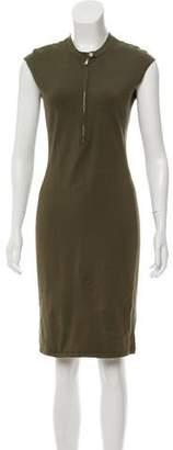 Ralph Lauren Sleeveless Silk Knee-Length Dress