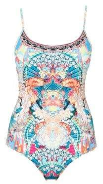 Camilla France Jewelled One-Piece Swimsuit