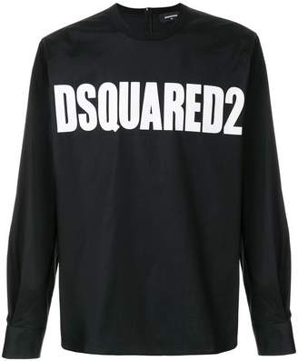 DSQUARED2 logo printed top