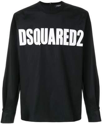 DSQUARED2 logo printed top