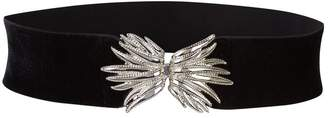 Sandro Embellished Wings Elasticated Belt