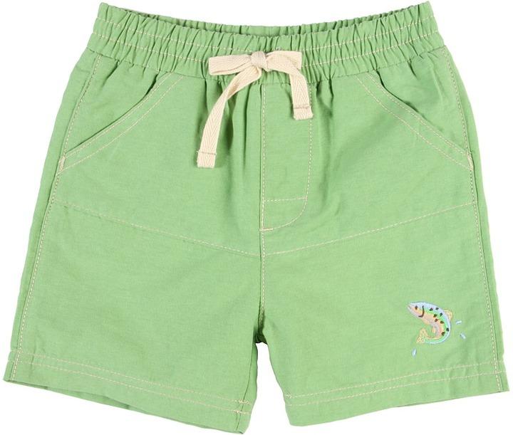 le top - Gone Fishin Swim Trunk (Infant) (Meadow Green) - Apparel