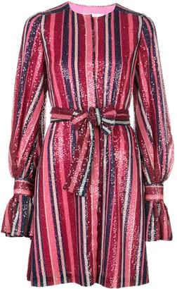 Carolina Herrera sequin puff-sleeved dress